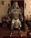 Silver Samurai Costume