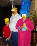 The Simpson Family Costume