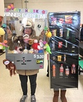 The Vending Machine and the Claw Machine Costume