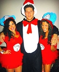 Thing 1, Thing 2 & Cat In The Hat Costume