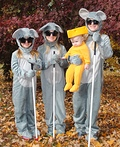 Three Blind Mice & their Cheese Costume