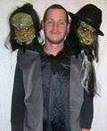 Three Headed Man Costume