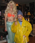 Tiny Fisherman and Mermaid Costume