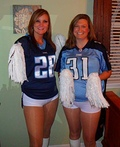 Titans Cheerleader Costume