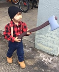 Toddler Lumberjack Costume