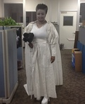 Toilet Paper Bride of Frankenstein Costume