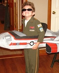 Top Gun Fighter Pilot Costume