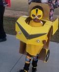 Transformer Autobot Bumblebee Costume