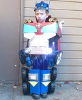Transforming Optimus Prime Costume