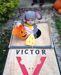 Trapped Mouse Costume