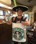 Trenta Pumpkin Spice Latte Costume