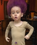 Troll Baby Costume