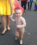 Troll Doll Baby Costume