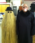 Uncle Fester and Cousin Itt Costume