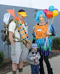 UP! Mr. Fredrickson, Russell, and Kevin Costume