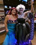 Ursula and Ariel Costume