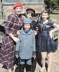 USO WWII Family Costume