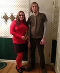 Velma and Shaggy Costume