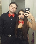 Ventriloquist and Dummy Costume