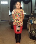 Walking Gumball Machine Costume
