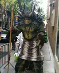 Warrior Troll Costume