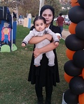 Wednesday Addams and Pubert Addams Costume