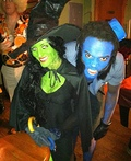 Wicked Witch of the West and Flying Monkey Costume