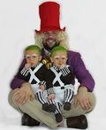 Willy Wonka and his Oompa Loompas Costume