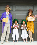 Willy Wonka's Oompa Loompas and the GOLDEN Ticket Costume