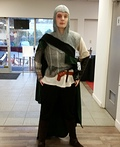 Woman Knight Costume