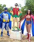 Wonder Woman, Batman and Robin Costume