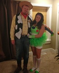 Woody and Buzz Costume