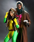 X-Men Rogue and Gambit Costume