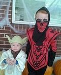 Yoda & Skull Head Costume