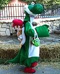 Yoshi & Mario Costume