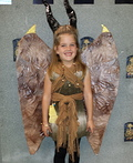 Young Maleficent Costume