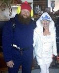 Yukon Cornelius and the Bumble Costume