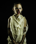 Zipper Face Girl Costume