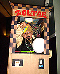 Zoltar in the Fortune Telling Machine Costume