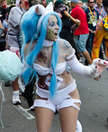 Zombie Felicia from Darkstalkers Costume