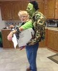 Zombie Kidnap Costume
