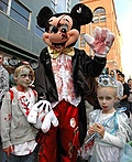 Zombies at Disney World Costume