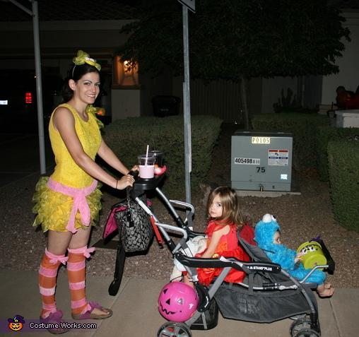 Halloween Night, Sesame Street Family Costume
