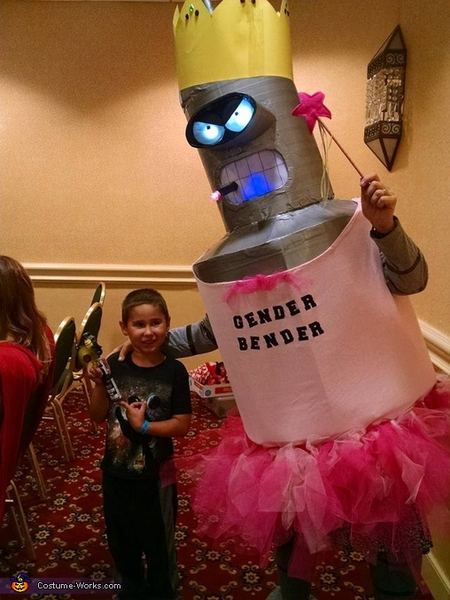 Duct Tape Gender Bender Homemade Costume