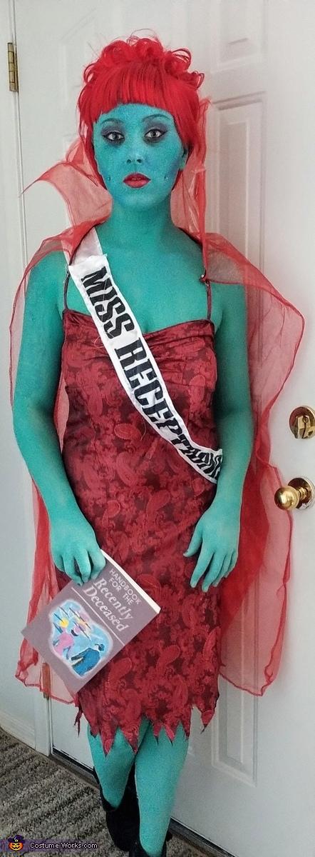 Miss Receptionist Homemade Costume