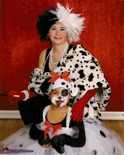 101 Dalmatians and Cruella DeVille Costume