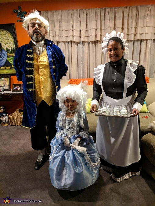 18th Century Family Costume