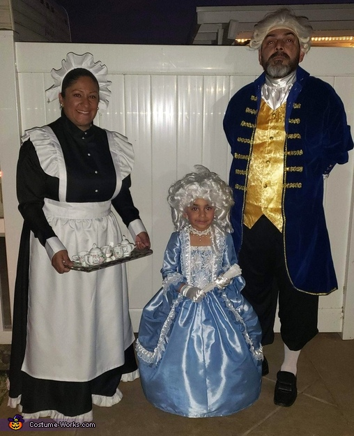 18th Century Family Homemade Costume
