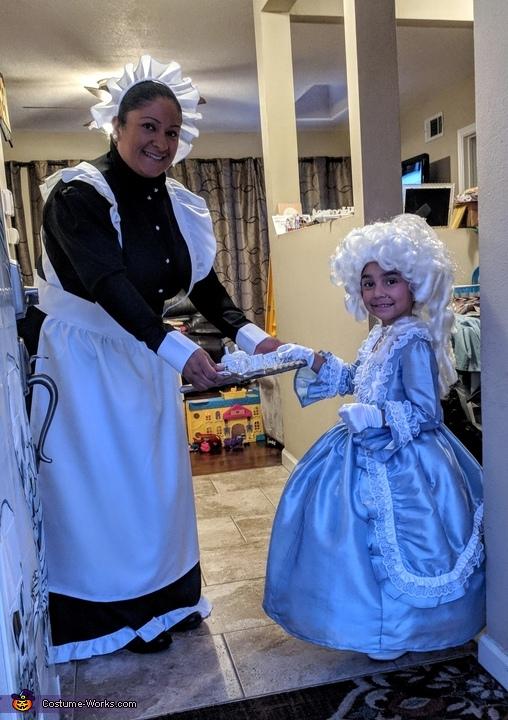 18th Century Family Homemade Costume