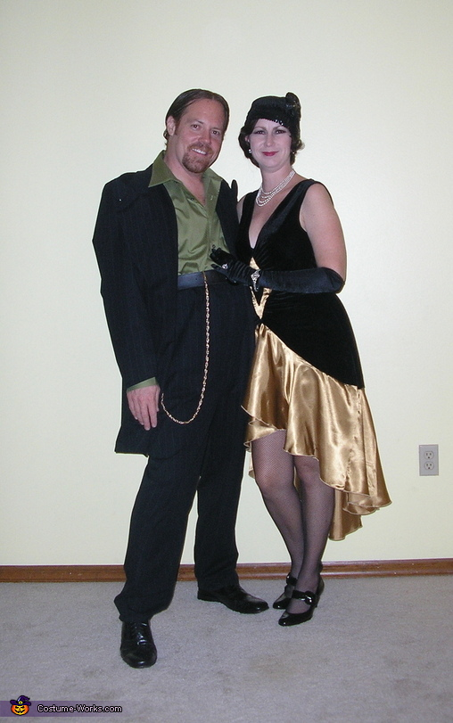 1920's Flapper and Gangster Halloween Costume